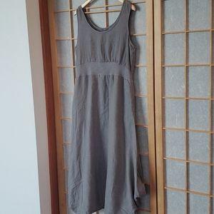 Cut Loose Linen Dress